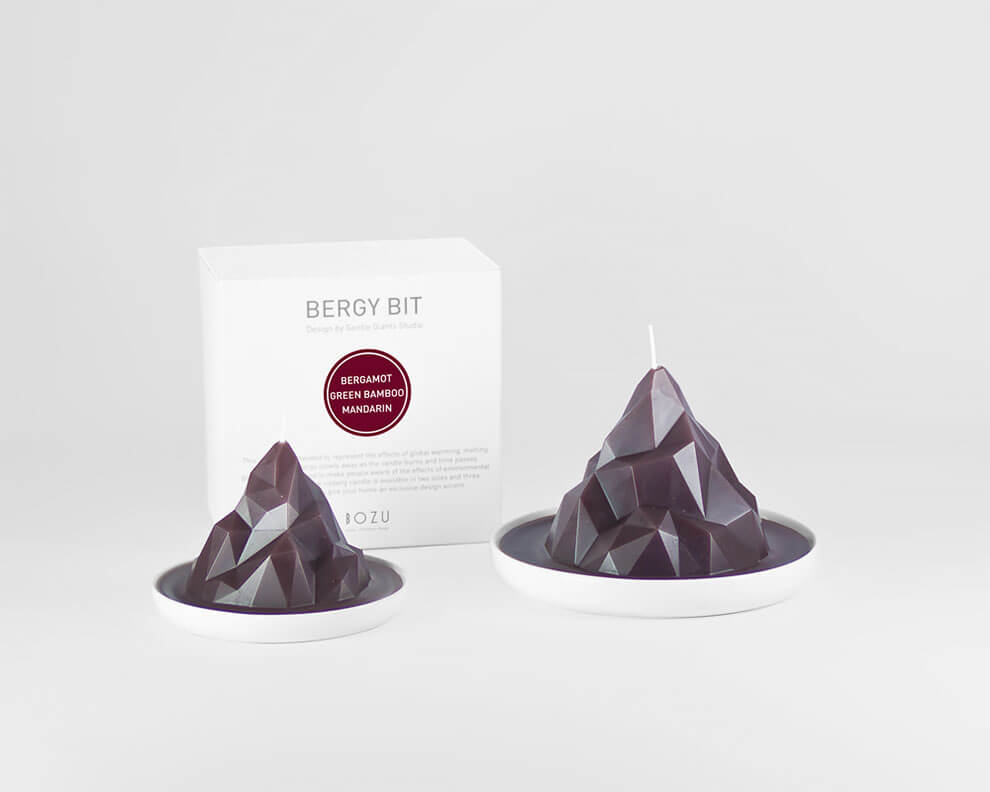 gentle giants studio candles fy 2 - Gentle Giants Studio Created A Collection Of Candles Designed To Raise Awareness Of The Global Warming