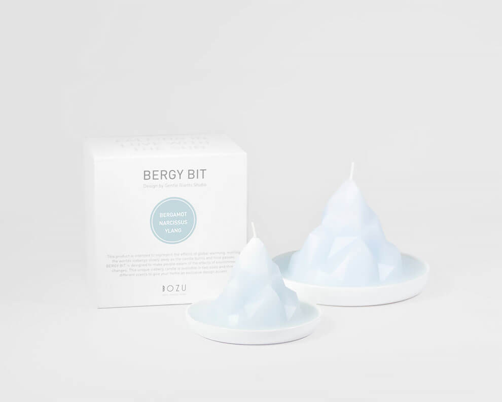 gentle giants studio candles fy 4 - Gentle Giants Studio Created A Collection Of Candles Designed To Raise Awareness Of The Global Warming