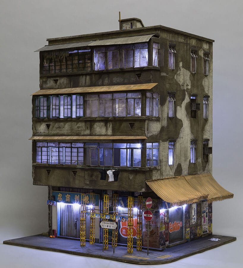 Australian Artists Creates Tiny Version of Hong Kong Urban Life -sculptures, miniature, mini-sculptures, gohome, artist