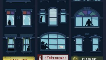 Canadian Artist Tackles Issue of Loneliness in Touching Illustrations -society, people, artist