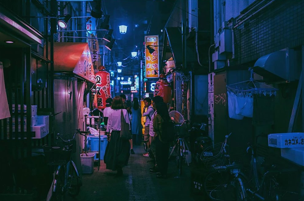 Photographer Matthieu Bühler Captures The Streets Of Tokyo At Night -Tokyo, photography, photographer, photo-project, night, gohome