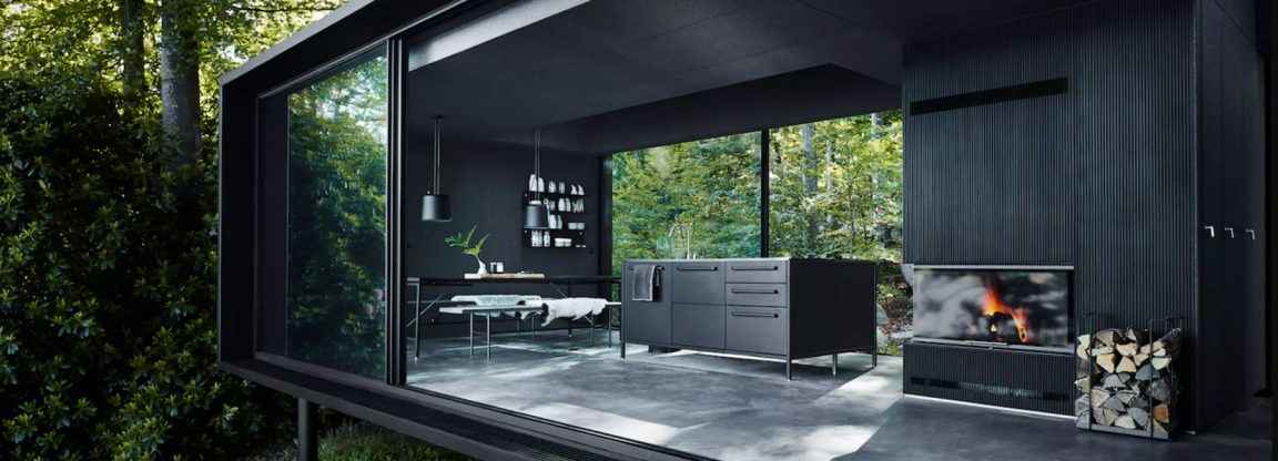 vipp shelter hotel fy 12 1152x416 - The Vipp Shelter Hotel Allows You to Spend the Night In Swedish Forests