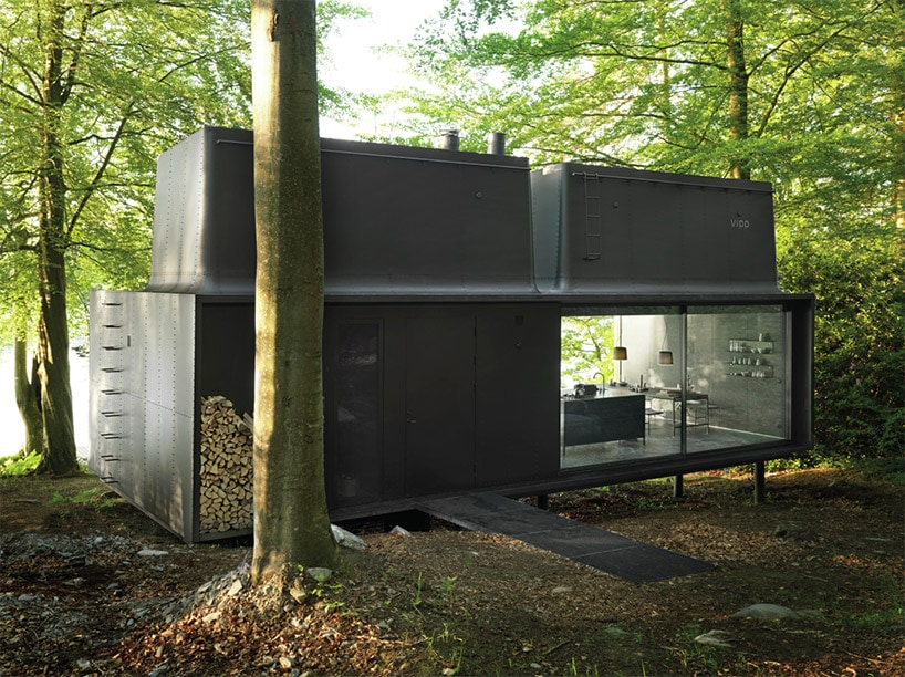 vipp shelter hotel fy 2 - The Vipp Shelter Hotel Allows You to Spend the Night In Swedish Forests