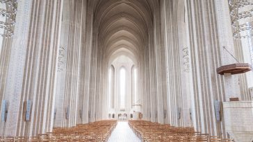 A French Photographer Captures Grand Beauty of Copenhagen's Grundtvig's Church -gothic, gohome, architecture
