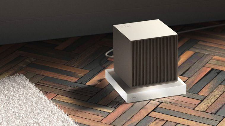 cube heater 01 758x426 - The Space Heater With Simple And Clean Design That Goes Well With Any Apartment