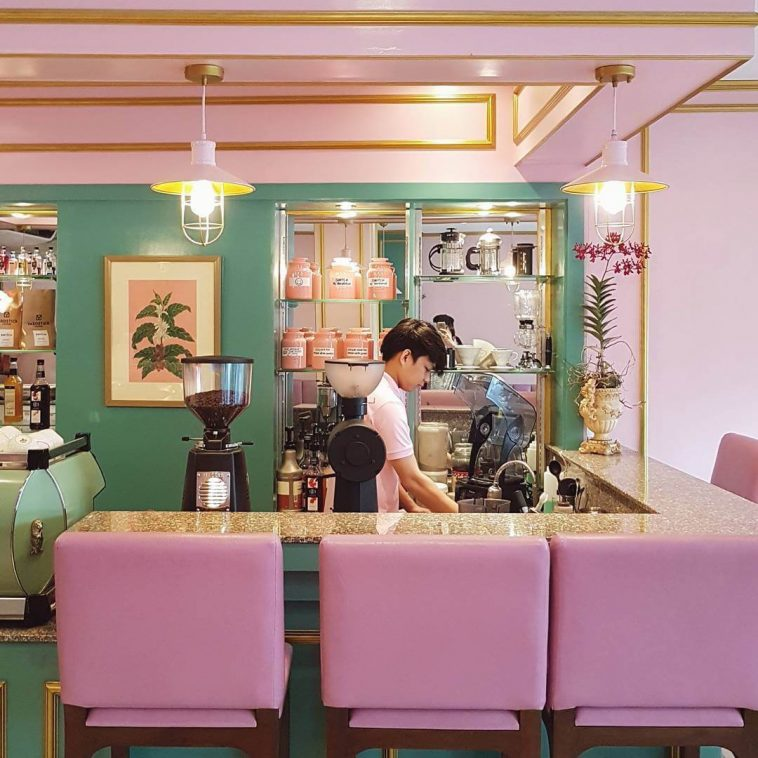 This Café in the Philippines Looks Exactly Like a Set From a Wes Anderson Film -wes anders, philippines, cafe