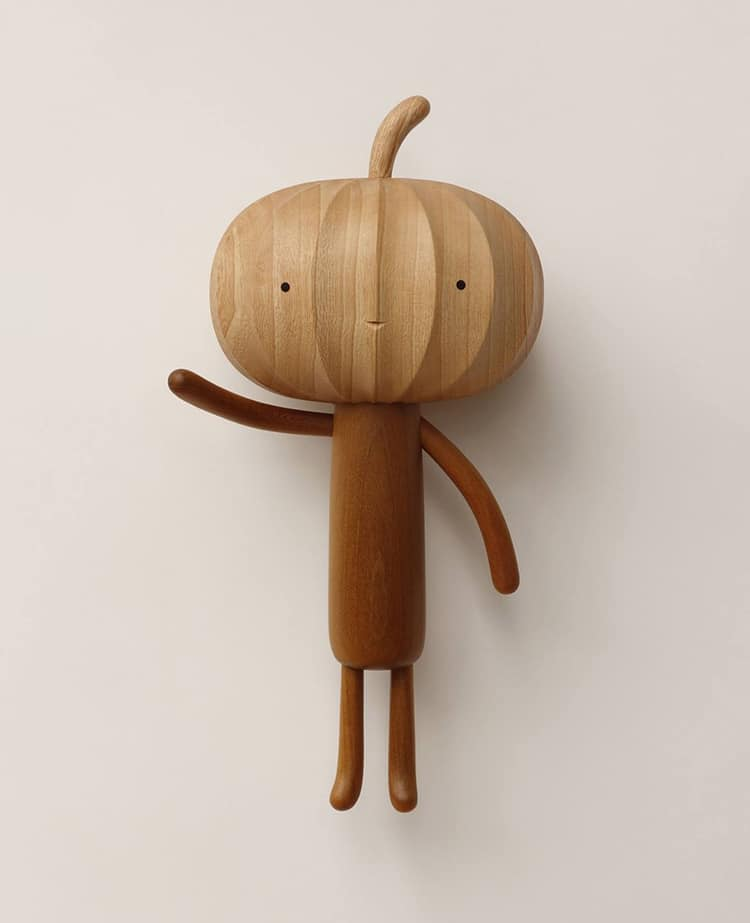 An Artist Brings His Kids Ideas into Cute Wooden Character -wooden sculptures, wood, gohome