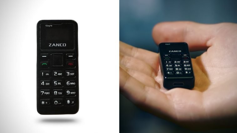 "Zanco ""Tiny T1"" - The Smallest Fully Functional Phone You Have Ever Seen -smartphone, iphone"