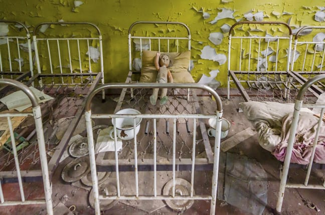 Chernobyl Nuclear Exclusion Zone, Ukraine