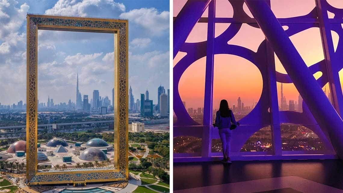 Dubai Just Built The Biggest Picture Frame in the World From A Stolen Design -dubai, architecture