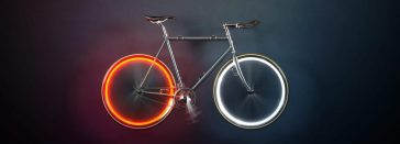 Arara: Battery-free Lights That Make Bicycles Visible on The Road -light, bike, bicycle