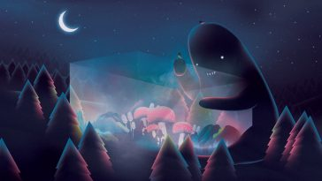 Illustrations of Imaginary Creatures that Come Out at Night by Martynas Pavilonis -paintings, illustrations, gohome, artist
