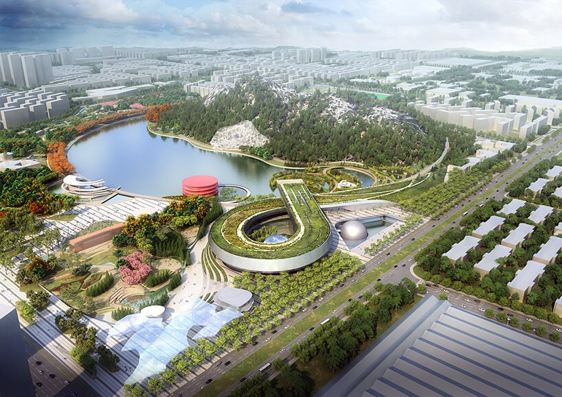 Futuristic Design Of Science And Technology Museum in Suzhou Revealed By Perkins+Will -technology, museum, gohome, china