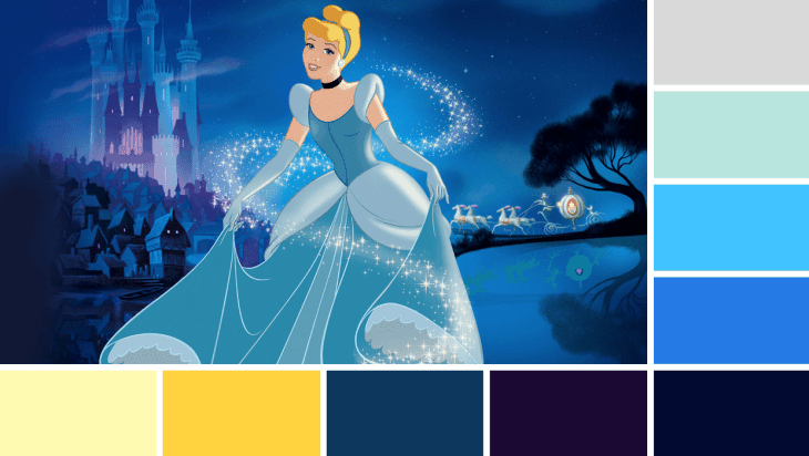 Cinderella Colours