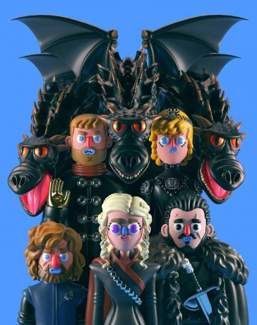 Game of Thrones as Claymation-Style Models by El Grand Chamaco -models, gohome, Game of Thrones