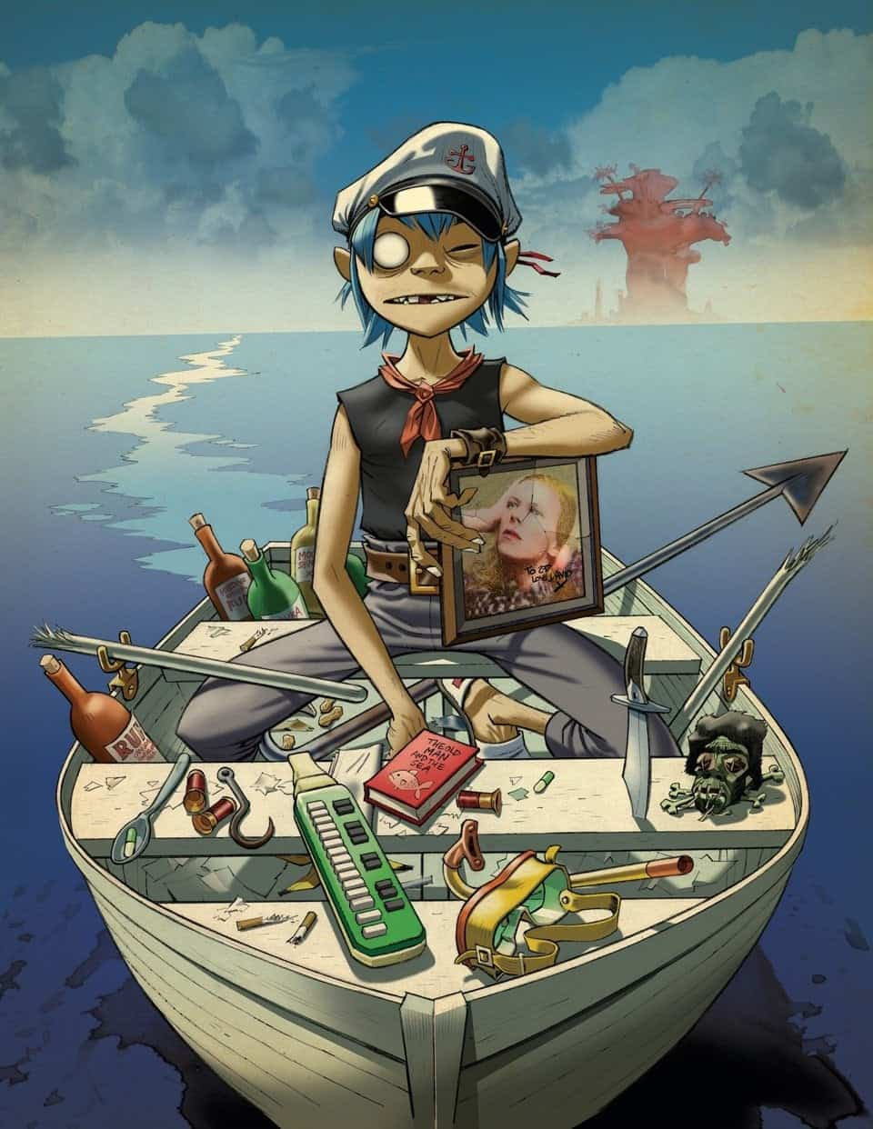 Legendary Jamie Hewlett's Celebrates his Work on Tank Girl, Gorillaz and more -uk, illustrations, gorillaz, gohome, artist