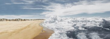 Where Sea Meets Sky - Laurent Rosset Blends Them Into Beautiful Pictures -sky, Photoshop, photo manipulations, gohome, Cloud