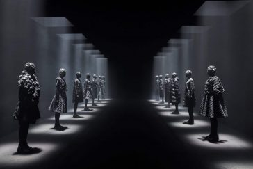 Clothing Brand Moncler Collaborates with Eight Designers to Rethink  its Signature Down Jacket -Milan fashion week, installation, gohome, clothes