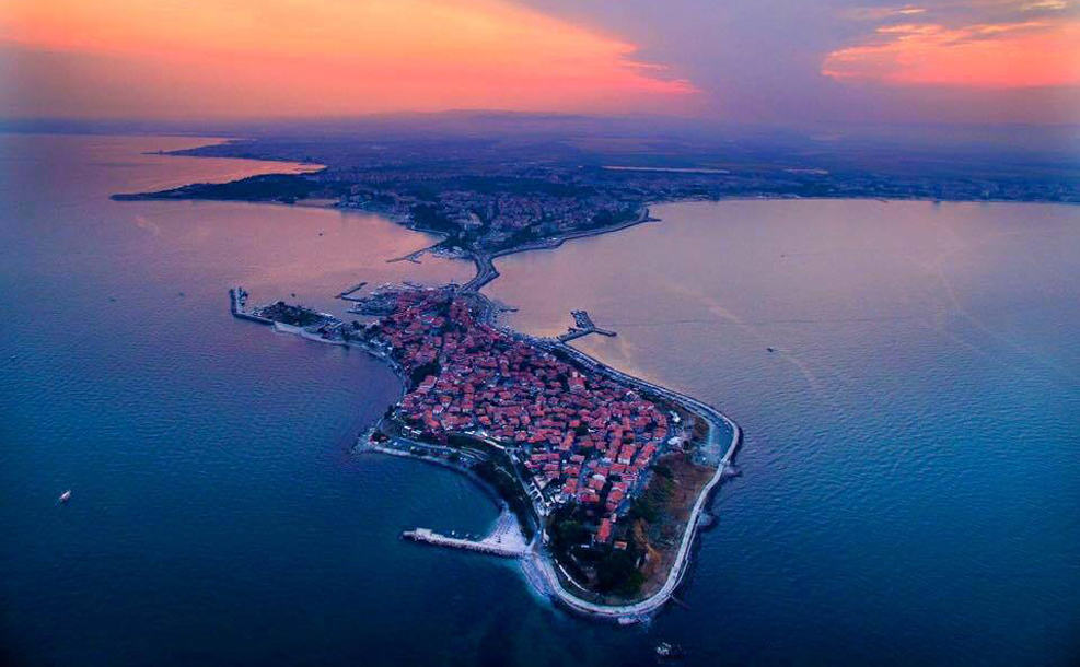 Nesebar from above