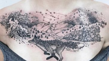 Pony Reinhardt's Tattoos Explore Organic World and Celestial Bodies -tattoos, tattoo art, tattoo