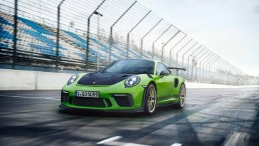 Porshe Revealed its Latest Model 911 'GT3 RS'  at the Geneva Motor Show 2018 -vehicle, supercar, porshe, car