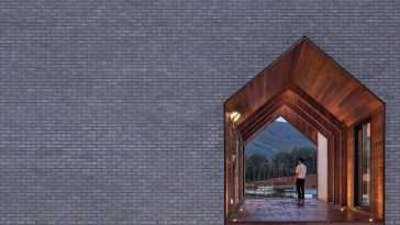'Manhwaricano' Home in Which History Merged into Simple Geometric Vernacular -korea, house, gohome