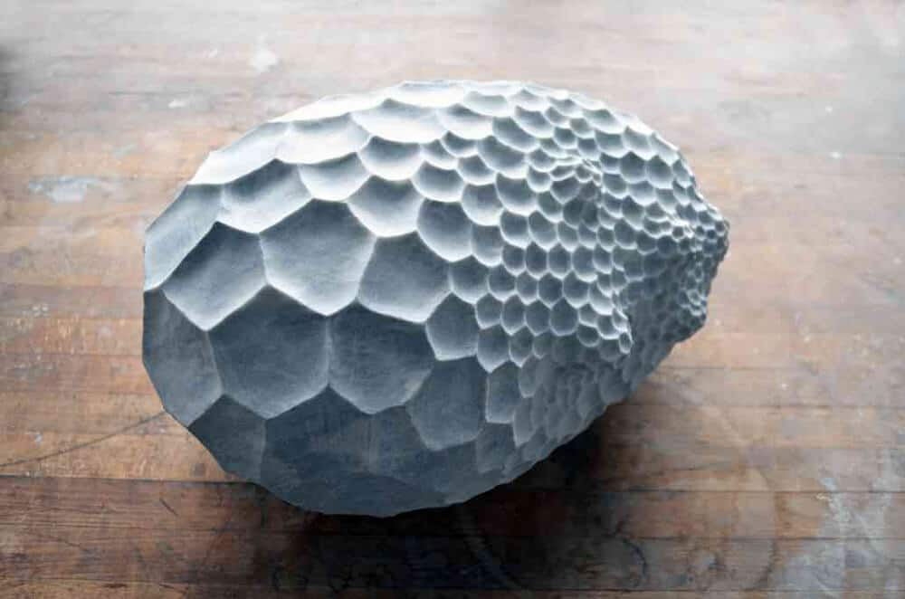 Swiss Artist Sibylle Pasche Creates Porous Sculptures Carved from Italian Marble -stone, sculptures, sculpture, marble, gohome
