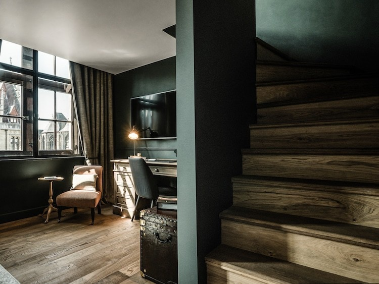 This Beautiful Boutique Hotel Had Been A Historical Belgian Post Office In The Past -vintage, hotel, gohome, belgium