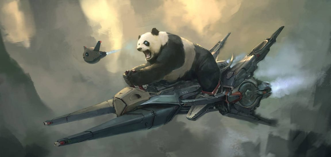 Conceptual Illustrations of New Worlds By Steve Chinhsuan Wang -illustrations, gohome, conceptual