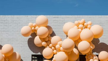 Melbourne Got Filled With Thousands Biodegradable Balloons By LA-based Artist Geronimo -Melbourne, installation, balloons