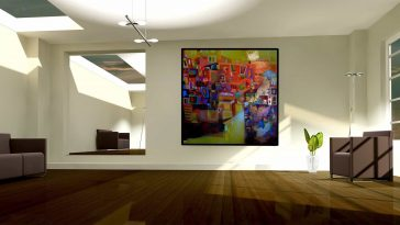 Why Wall Paintings Are Essential To Interior Design? -wallpaper, wall, paintings, artwork