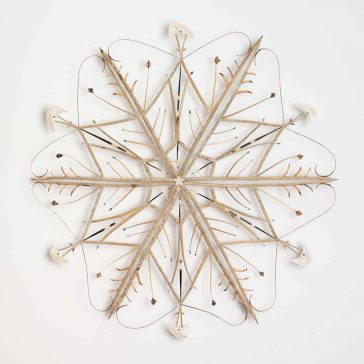 An Artist Collaborated with Nature To Create Sculptural Mandalas -sculptures, insects, gohome