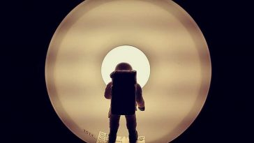 An Artist Replicates Space Odyssey Featuring  Little Astronaut -space, Instagram, gohome, astronaut