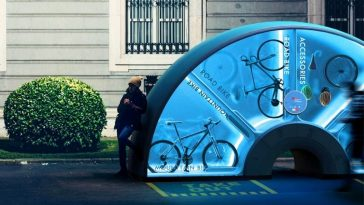 Orbike: a Donut-Shaped Vending Machine That Allows People to rent Bicycles -gohome, elon musk, bike