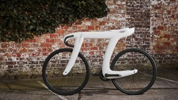 These Designers Created Fully Functioning the Carbon Fiber Pi Bike -pi, math, making of, carbon fiber, bike