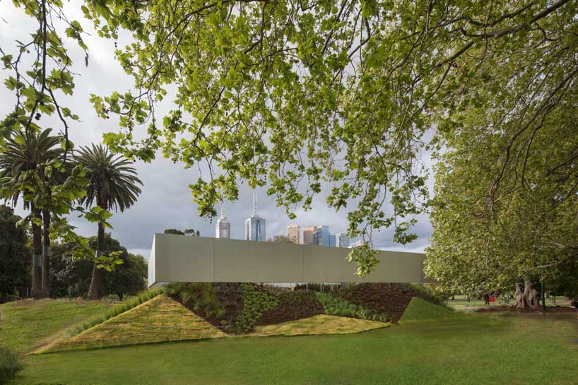 Mpavilion - A Structure Inspired By Ancient Amphitheaters Completed By Rem Koolhaas And David Gianotten -pavilion, Melbourne, gohome, construction, australia