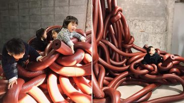 "An Impressive Installation By Rikato Nagashima: ""Human Nature"" -Tokyo, japan, gohome, exhibition"