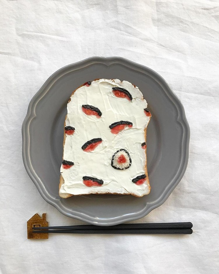 These Adorable Toasts By Japanese Food Stylist Eiko Mori Are Too Cute To Eat -japan, food art, food, breakfast