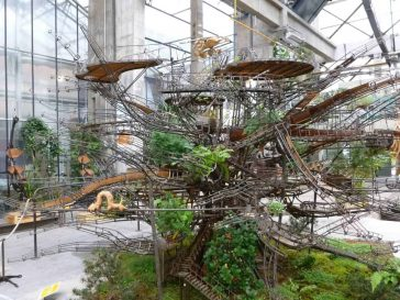 This Ambitious Future Project Plans To Have The Largest Hanging Garden Since Ancient Babylon -trees, public art, plants, gohome, france