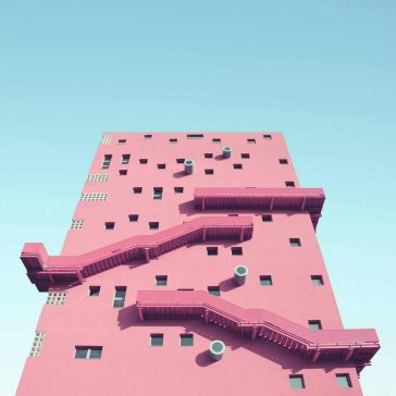 Unknown Geometries: An Italian Photographer Explores Milan's Architecture Through the Shapes and Colors -milan, gohome, buildings, architecture