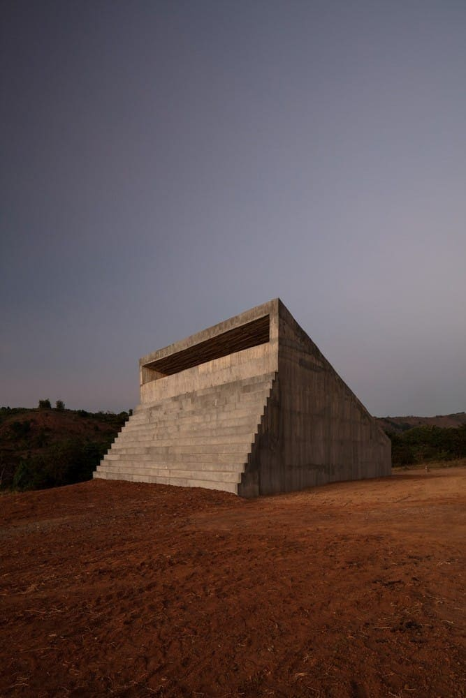 Swiss Artist Not Vital Designed Bataan Chapel in the Philippines -gohome, chapel, building, architecture