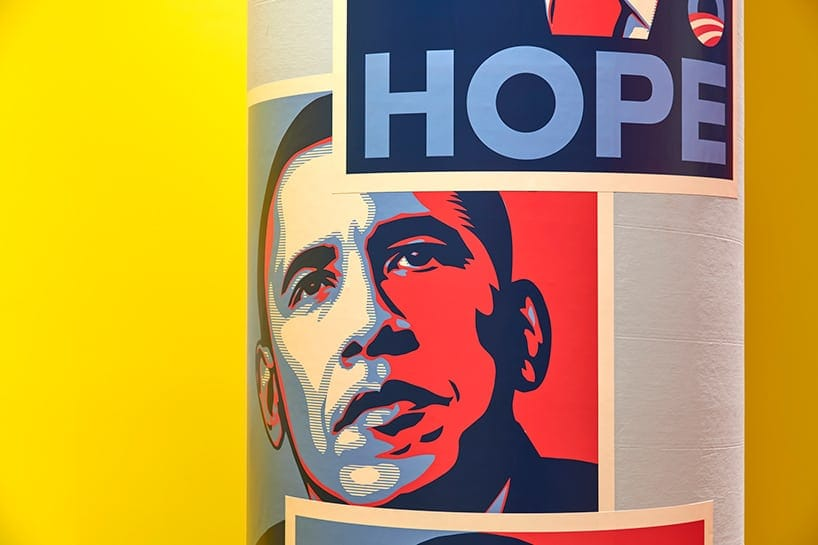 Hope to Nope: The Design Museum in London is Explores the Political Power of Design -us politics, politics, politicians, london, gohome, exhibition, donald trump, Barack Obama