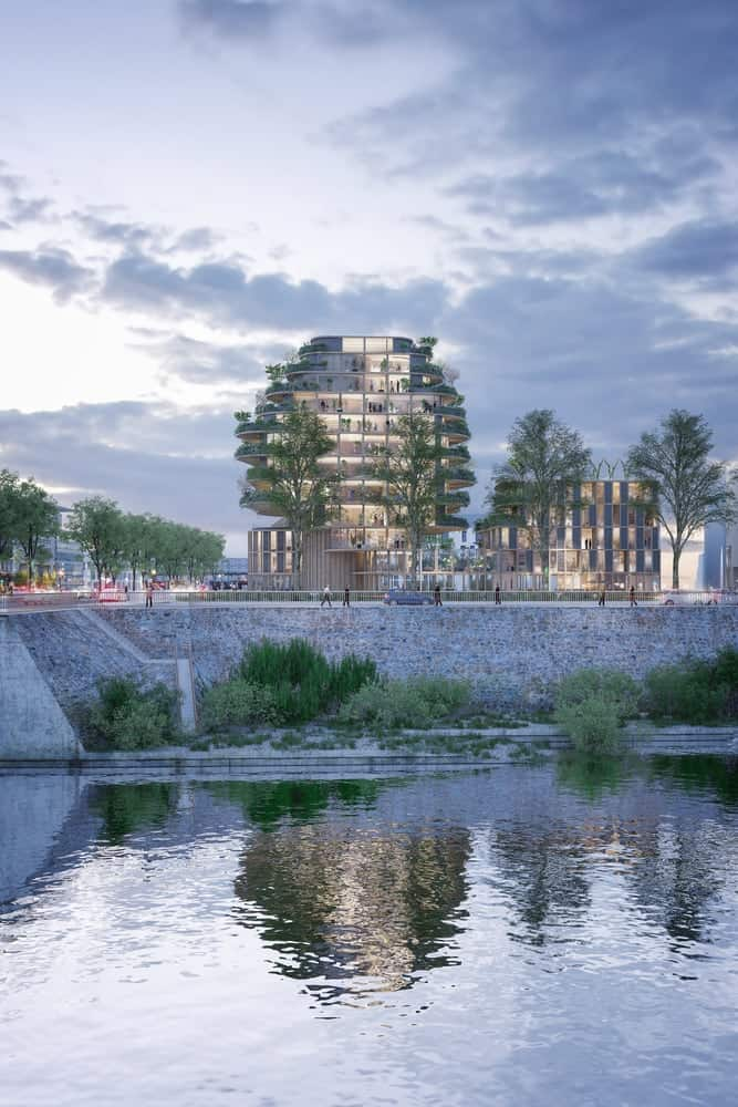 An Urban Project Encircled by Lush Biodiversity Wins Imagine Angers Design Competition -gohome, france, competition, architecture photography