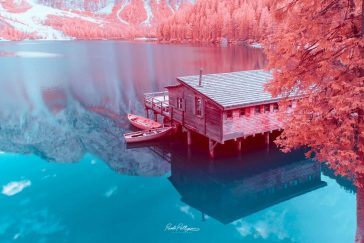 Discover the Dolomites Through an Infrared Lens of Paolo Pettigiani -photographer, mountains, Italy, infrared, gohome, dolomites