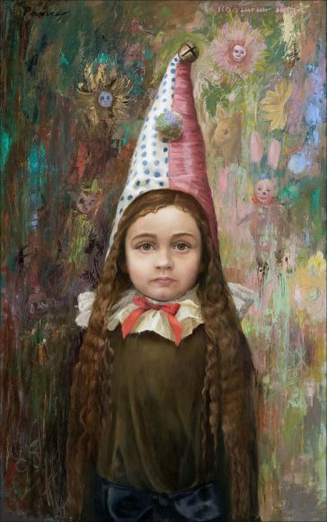 Carrie Pearce's 16th-Century Inspired Portraits of Children -portrait, paintings