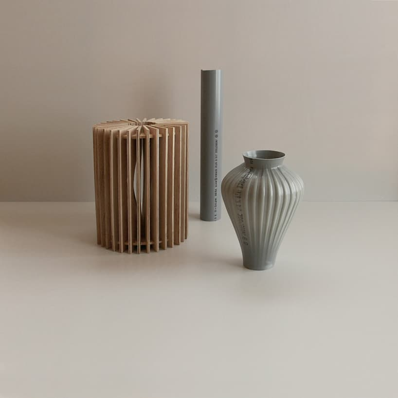 A Japanese Artist Transforms Plastic Pipes into Hand-Blown Flower Vases -vase, sculpture, gohome