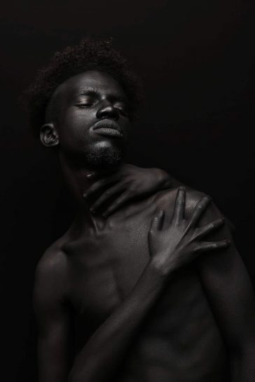 Yannis Davy Guibinga Portraits Highlight the Diversity the Color Black -portraits, gohome, africa